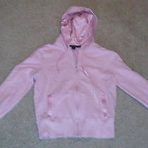 Express Womens Pink Athletic Style Hoodie Size Medium Guc Free Shipping Photo