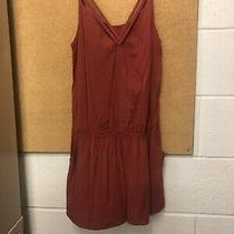 Express Womens Romper Rust Spaghetti Strap Size Small Dry Cleaned Photo