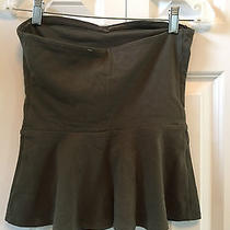 Express Womens S Olive Strapless Cotton Blend Top Nwt 29 Photo