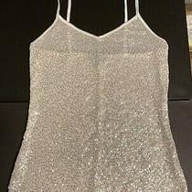 Express Womens Sequined Tank Top Size Xs Photo