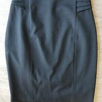 Express Womens Size 00 Lined Black Pencil Skirt Photo