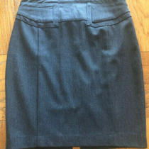 Express Womens Size 6 Gray Pencil Skirt  Photo