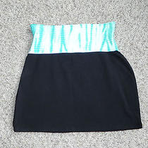 Express Womens Skirt Black & Tie Dye Small Nwot Photo