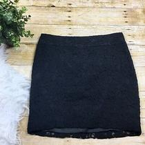 Express Womens Skirt Size 0 Lace Mini Black Lined  Photo