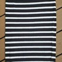 Express Womens Striped Black White Pencil Skirt Size S Small  Photo