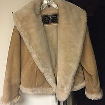 Express Womens Tan Suede Jacket Photo