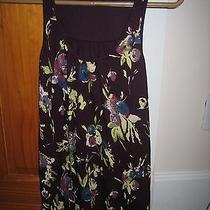 Express Womens Top Hand Painted Decorated With Sequins Iris Racer Back Size P/s Photo