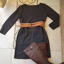 Express Womens Tunic/dress Sweater Charcoal Sz S Photo