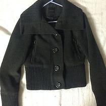 Express Wool Motorcycle Jacket Size Small Photo