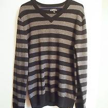 Express Wool v Neck Sweater Dress Size M Photo
