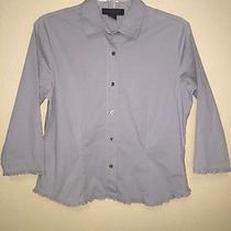 Express World Brand Gray Shirt Womens Size M Photo