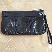 Express Wristlet Black Snakeskin- Cute Photo