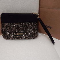 Express Wristlet Black With Sequin Photo