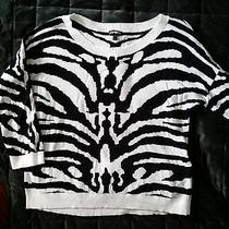 Express Zebra Print Top  Size Large Photo