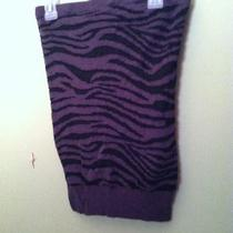 Express Zebra Tube Top Size X-Small Photo