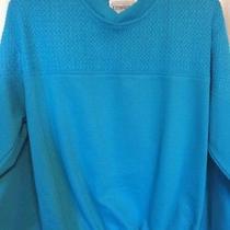 Expressions Turquoise Lightweight Sweatshirt Ladies Size M Photo