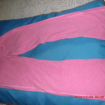 Exress 2 Piece  Active/lounging Set Top L Bottom Med  Pre-Loved Pink Photo