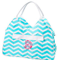 Extra Large Personalized Beach Bag Tote Monogrammed Bride Bridesmaid Gift Photo