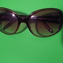 Eyeware Brand Guess Women's Sunglasses Color Brown Style Logo Oval Photo