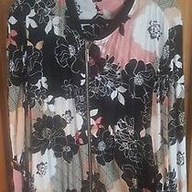 F and F Jacket Black Rose Blush Size 20 Gorgeous Worn Once  Photo