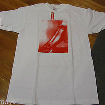 F/w 2009 Supreme Apc Box Logo Legs Upskirt Tee T Shirt Red White Cdg Pcl White L Photo