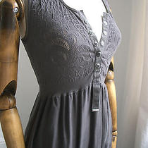 Fab High Use Dark Grey Empire Line Dress by Marithe Designer Claire Campbell S Photo