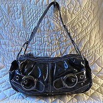 Fab Kathy Van Zeeland Purse Black and Fun Photo