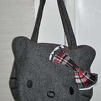 Fabny Starpoint - Hello Kitty Juniors - Black and Gray Shoulder Tote Handbag  Photo