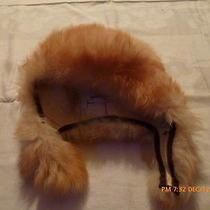 Fab Vintage Ladies Real Tuscan Lamb Skin Fur Hat Made in Italy  Nice Warm Photo