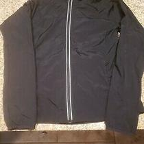 Fabletics Black Camilla Jacket Hooded Lightweight Sz Medium.  Photo