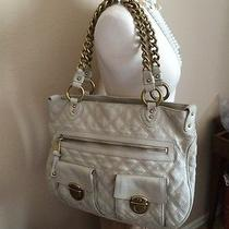 Fabulous 1300 Marc Jacobs Beige Stella Quilted Chain Tote Handbag  W Dustbag  Photo