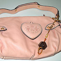 Fabulous Authentic Juicy Couture Handbag Pink Leather Photo