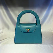 Fabulous Chanel Caviar Aqua/turquoise Handbag Photo