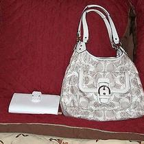 Fabulous Coach Handbag With Wallet  the American Stadard of Luxury Photo