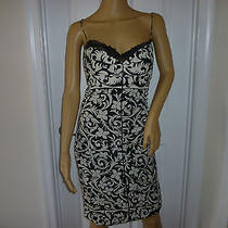 Fabulous Nicole Miller Collection Ruched Silk Cocktail Dress Unique Rare Size 4 Photo