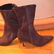 Fabulous Salvatore Ferragamo Suede Boots Size 40-10 Gently Worn  Photo