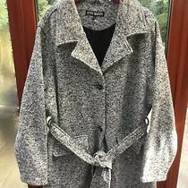 Fabulous Steve Madden  Ladies Grey Mix Coat  Size 2xl Photo