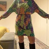 Fabulous Yves Saint Laurent Rive Gauche Dress Size Uk 10 It 44 Ysl Vintage Photo
