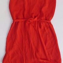 Fabulousss Haute Hippie Racerback Tank Dress in Tomato Size Small S  Photo