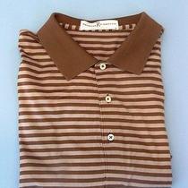 Fairway & Greene Golf Shirt Sanctuary Golf Club Elk Logo 100%Cotton Xl Brown/tan Photo