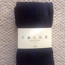 Falke Navy Knit Tights Photo