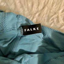 Falke Pure Matt 50 Blue Semi-Opaque Tights Size S/m Photo