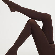 Falke Pure Matte 50 Tights 50 Den Appearance 38-40 S/m Semi-Opaque Cigar Luxury Photo