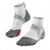 Falke Socks Women Bc5 White Cushioned Race Biking Cycling Women Size 6.5 to 7.5 Photo