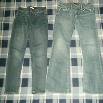 Falls Creek / Levi Strauss Co Girls Blue Jeans Size 7/8 Photo