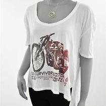 Family Dog Collection by Chaser White Tee Truth Bike Boxy Flow Size S Retail 59 Photo