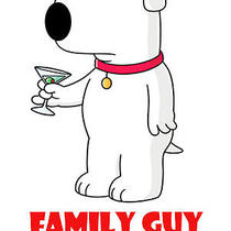 Family Guy 1999 - 2013 Brian Griffin Family Guy  - Various Sizes and Colors Photo