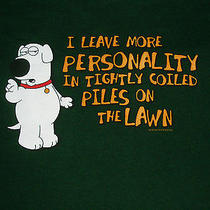 Family Guy Brian Griffin Dog Personality Funny Adult Xl Shirt Official Photo