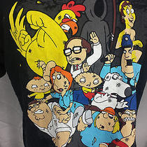 Family Guy Cartoon Tv Show Characters Griffin Tee T Shirt Xl Photo