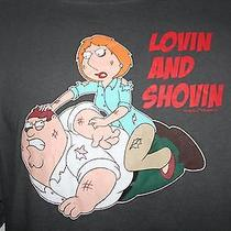 Family Guy Men's Large Tv Series T Shirt Lois Peter Griffin 2009 Fox Euc Photo